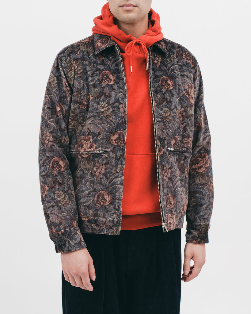 HARRINGTON JACKET - DUSK FLORAL