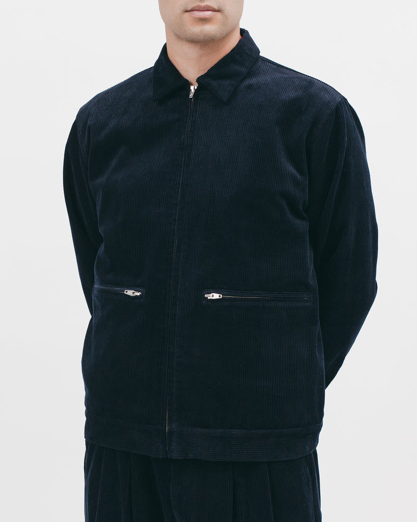 HARRINGTON JACKET - MIDNIGHT CORD