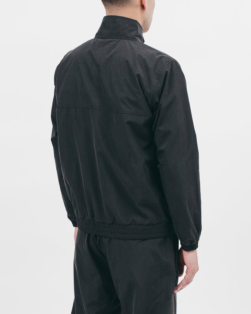 TRACK JACKET - ACID BLACK
