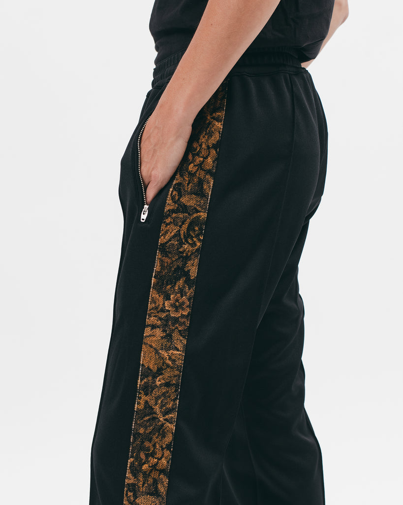 WARM UP TROUSER - BLACK / LEAF