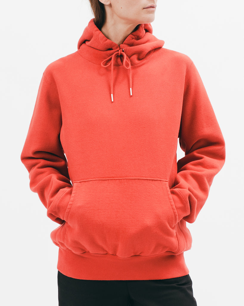 NATURAL DYED HOODIE - TOMATO