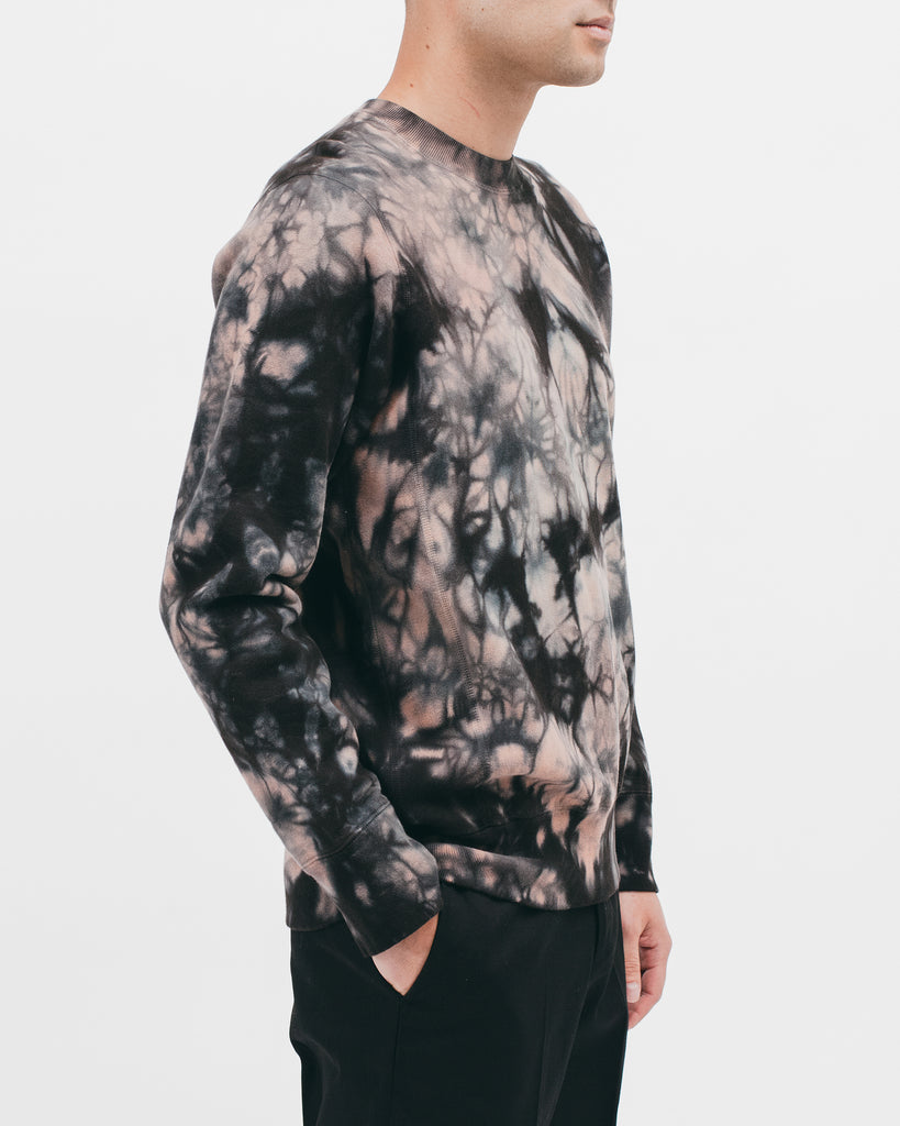 NATURAL DYED CREW - CLAY DYE