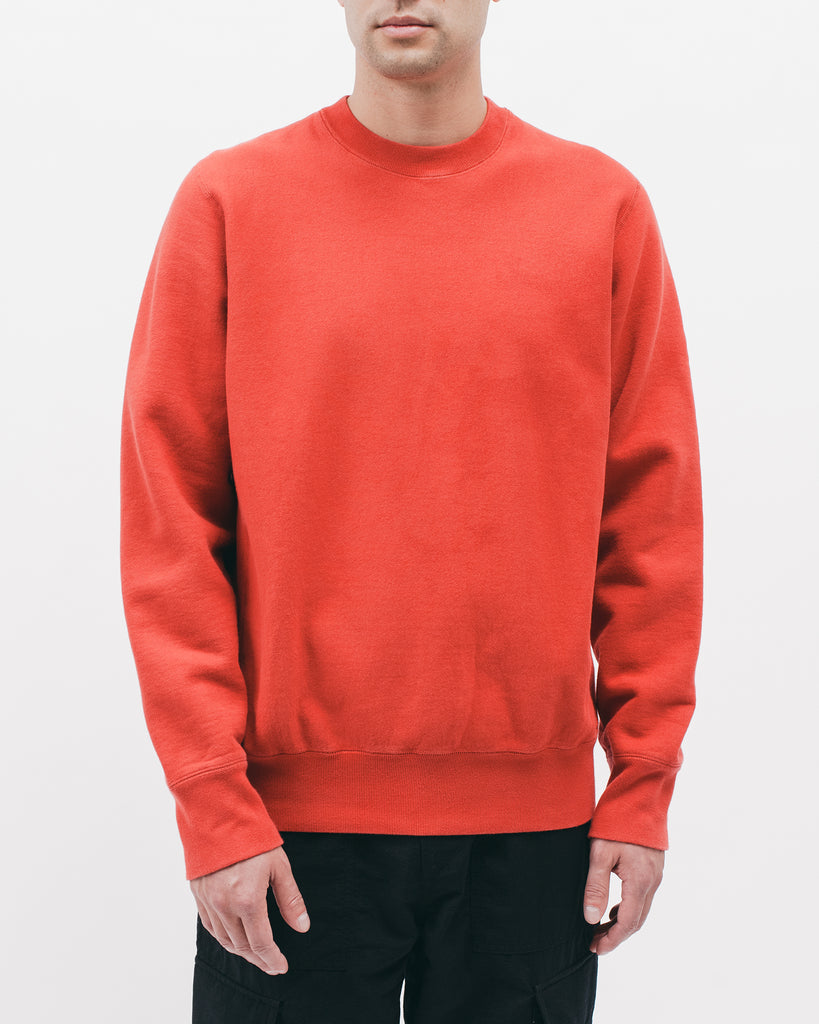 NATURAL DYED CREW - TOMATO