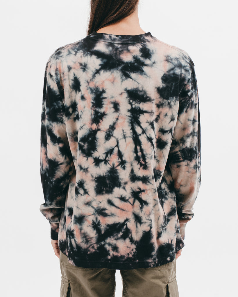 NATURAL DYED BLOCK LS JERSEY - CLAY DYE