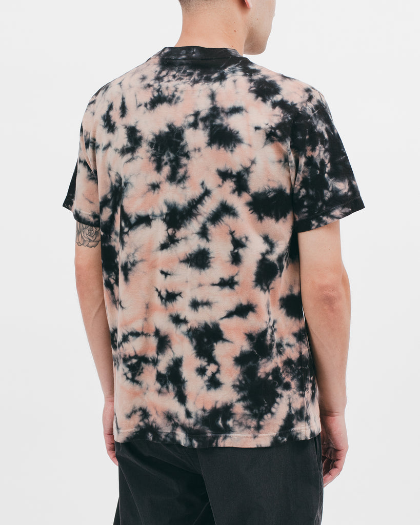 NATURAL DYED BLOCK SS JERSEY - CLAY DYE