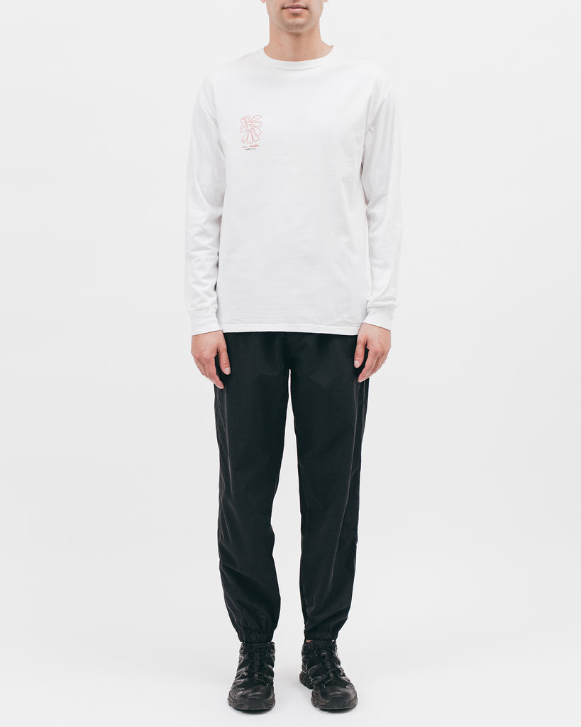 SELF PORTRAIT L/S TEE - WHITE