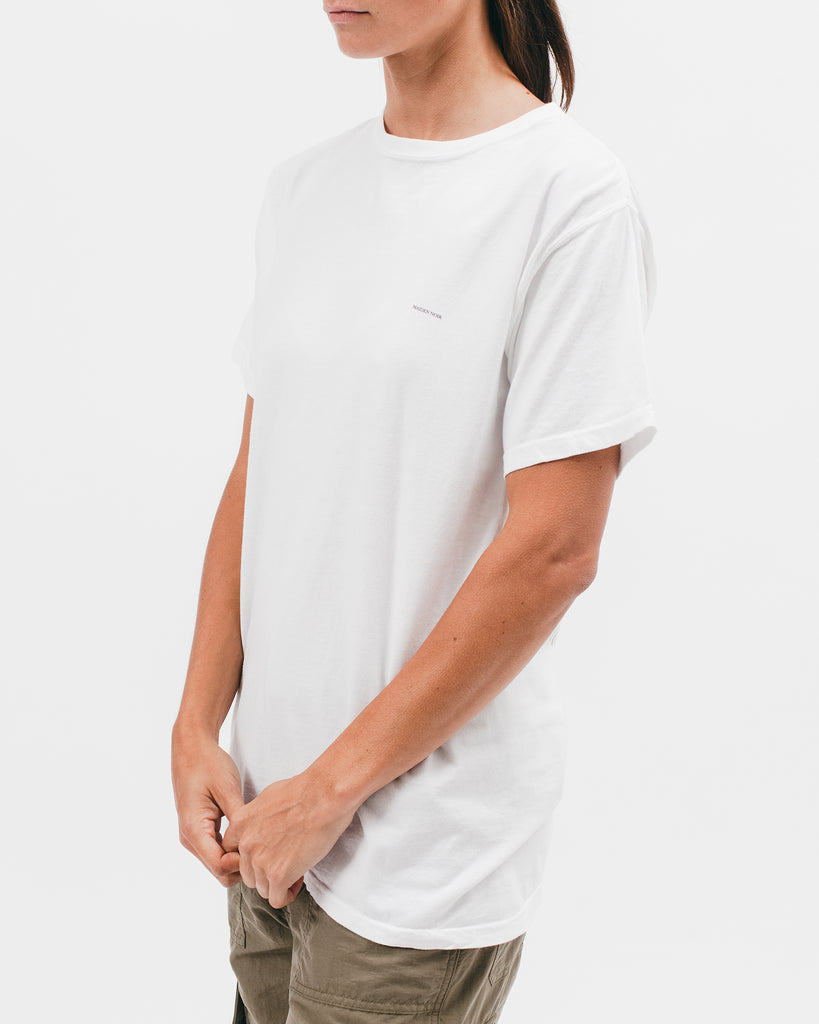 MUSE S/S TEE - WHITE