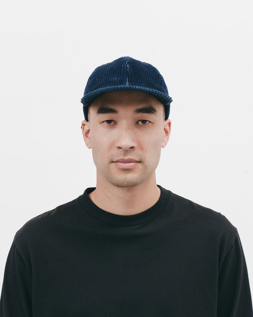 CORD BALL CAP - NAVY