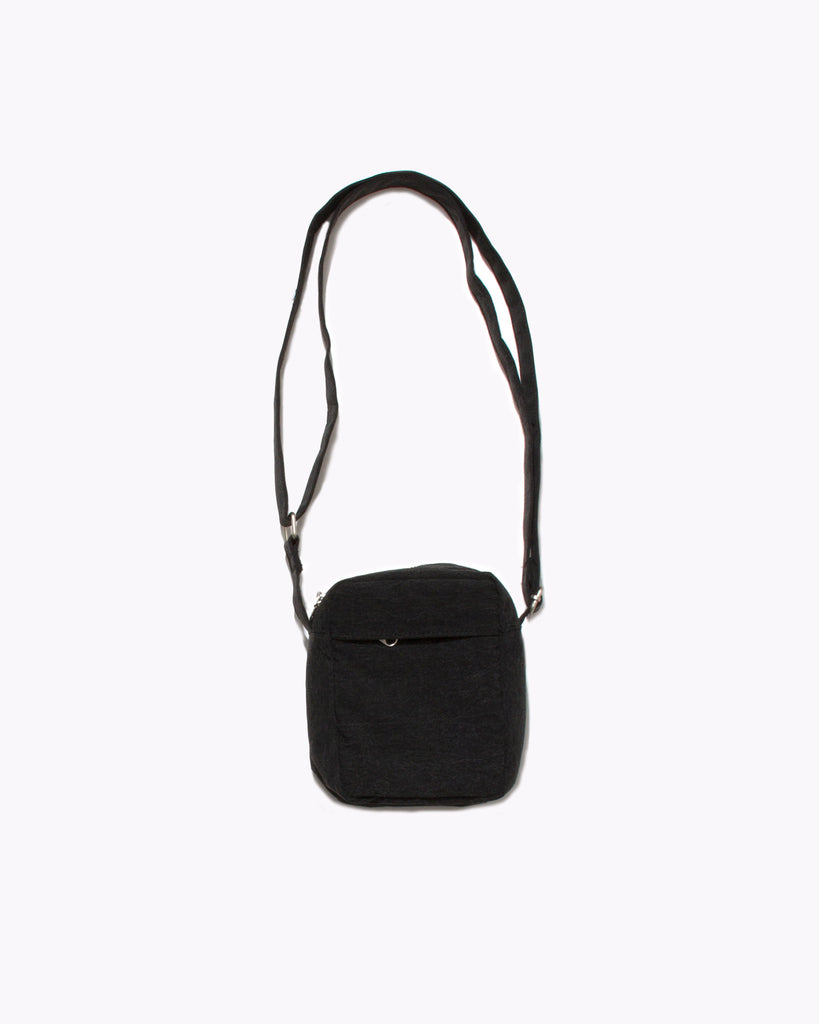 TEXTURE SHOULDER BAG - BLACK(2962)