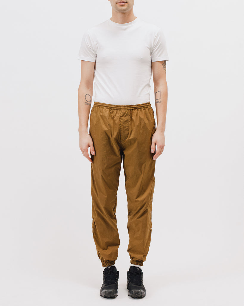 WARM UP TROUSER - TOBACCO