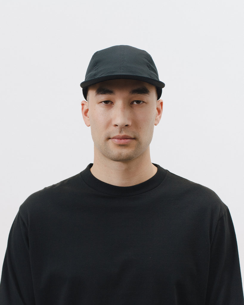 MESH RUNNER CAP - BLACK