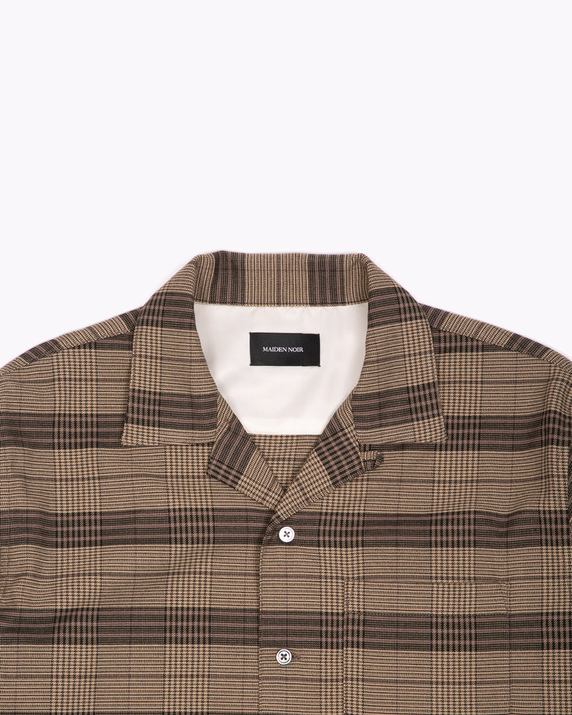 LS PLAID SHIRT - OLIVE PLAID(3112)