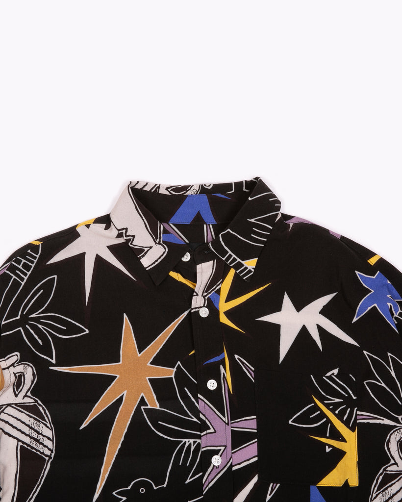 LS STAR SHIRT - EDD COX ART WORK(3115)