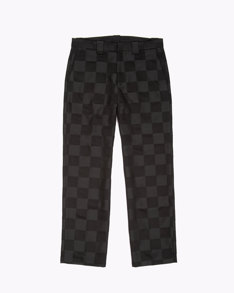 WORK TROUSER - TONAL CHECK BLACK(3122)