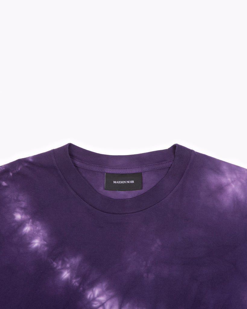 NATURAL DYED BLOCK LS JERSEY - PURPLE ASH DYED(3135)