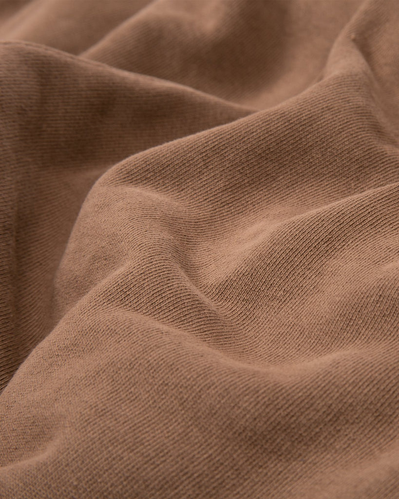 NATURAL DYED FLEECE TROUSER - BARK(3137)