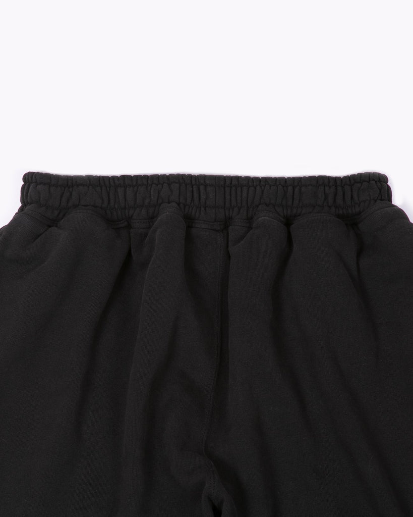NATURAL DYED FLEECE TROUSER - BLACK(3223)
