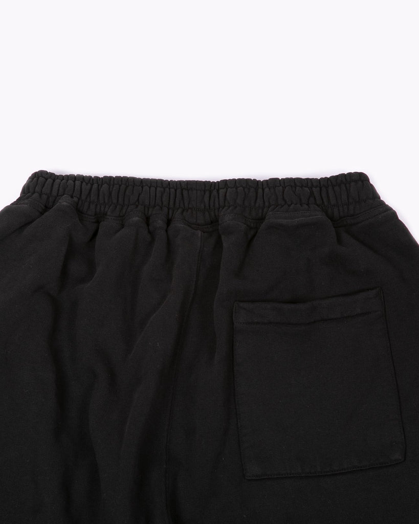 NATURAL DYED FLEECE TROUSER - BLACK(3137)