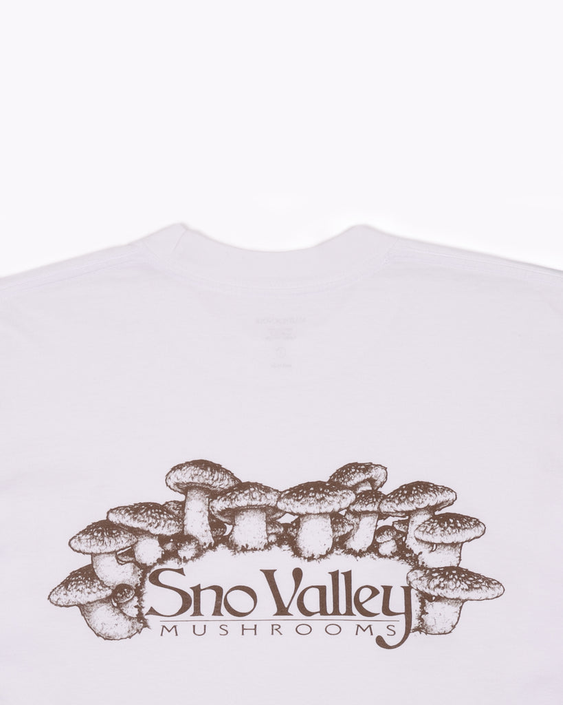 SNO VALLEY LS JERSEY - WHITE(3140)