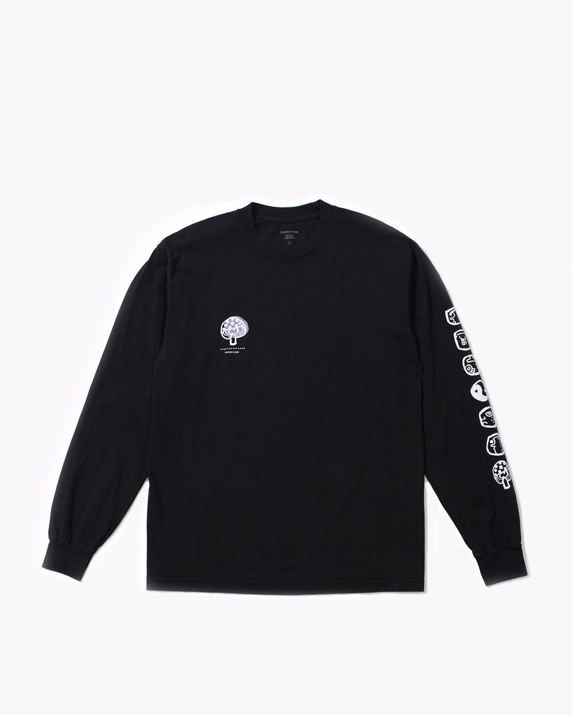 STONED LS JERSEY - BLACK(3141)