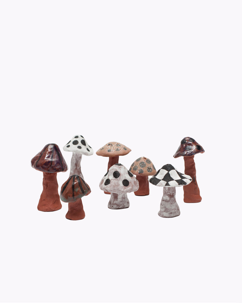 SHROOM CERAMIC INCENSE HOLDER(3165)