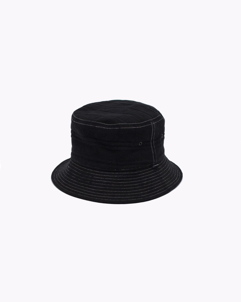 TAKEYARI BUCKET CAP - BLACK(3172)