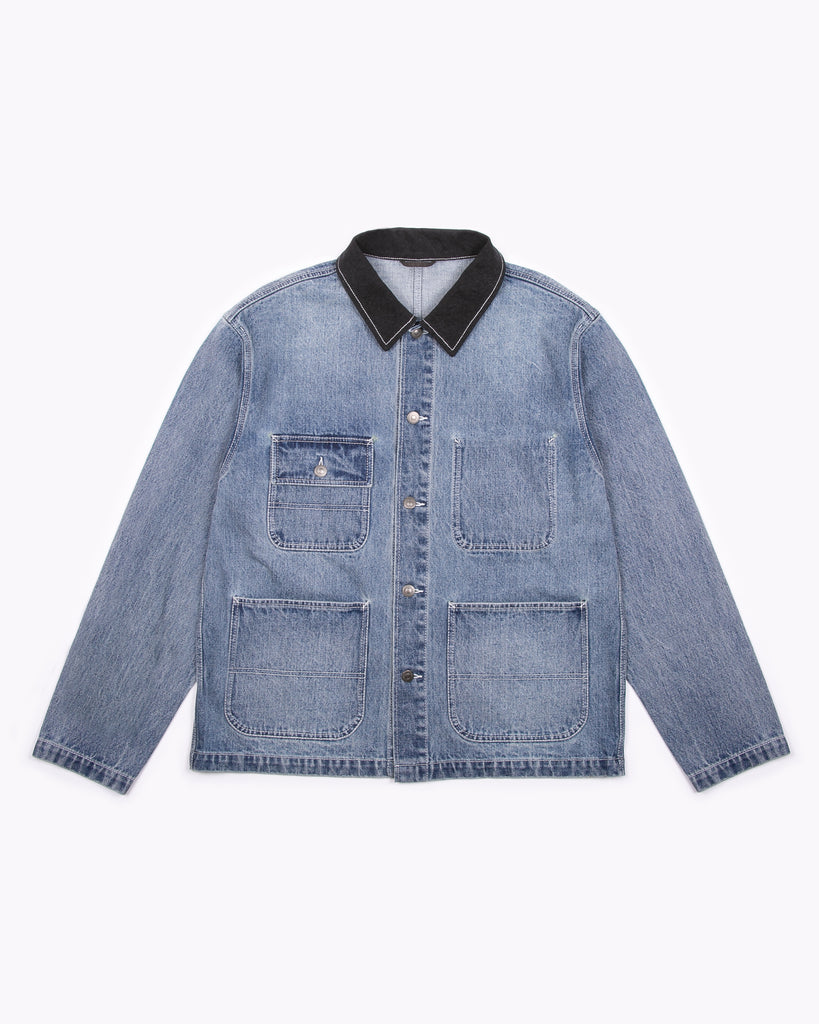 CHORE JACKET - LIGHT INDIGO(3201)