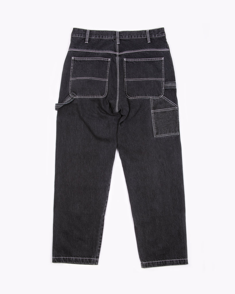 DOUBLE KNEE TROUSER - BLACK(3221)