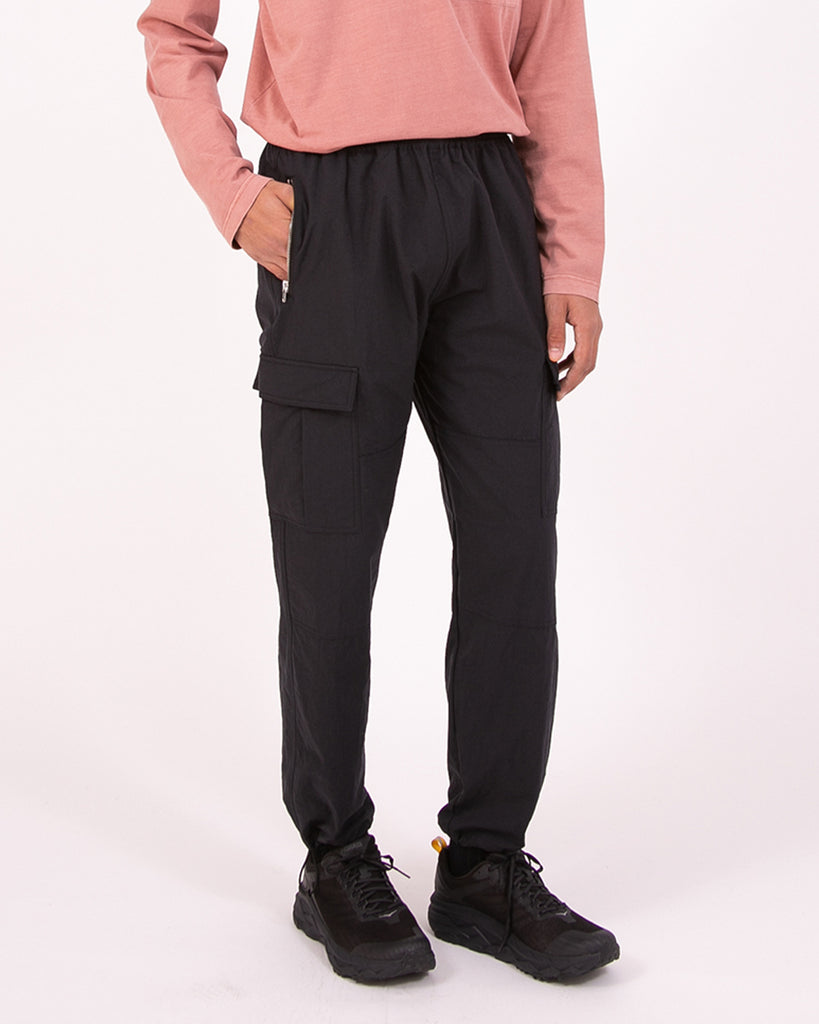 WARM UP CARGO TROUSER - BLACK(3222)
