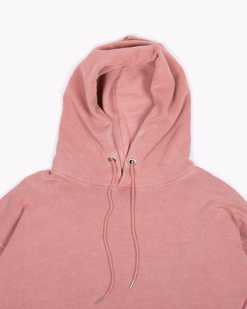 NATURAL DYED HOODIE FLEECE - BRICK(3231)