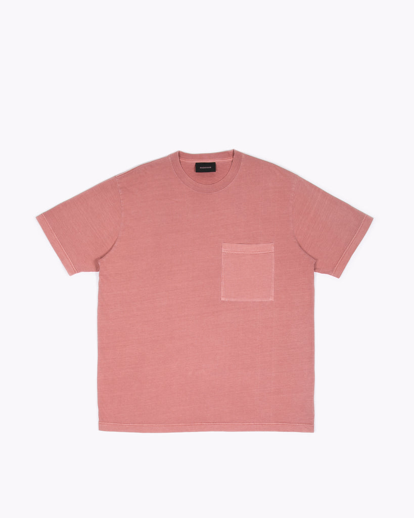 NATURAL DYED BLOCK SS JERSEY - BRICK(3234)