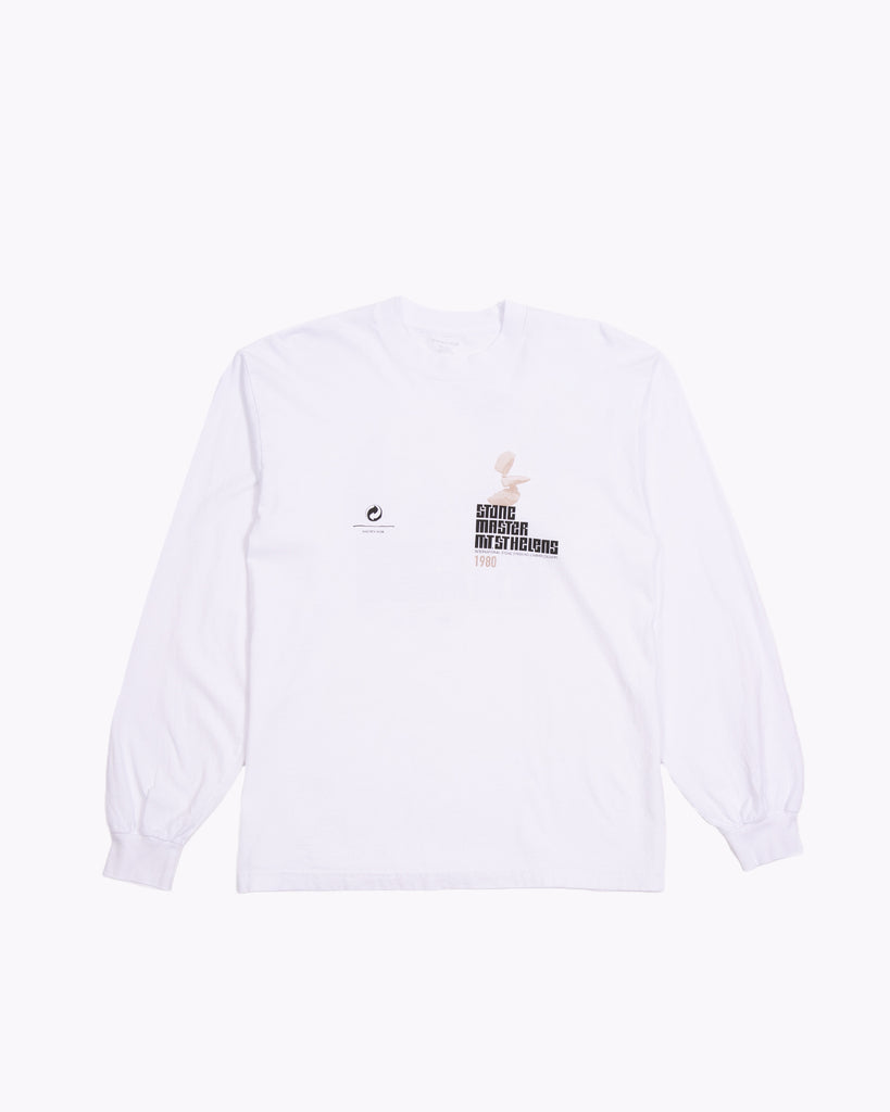 STACKED LS JERSEY - WHITE(3240)