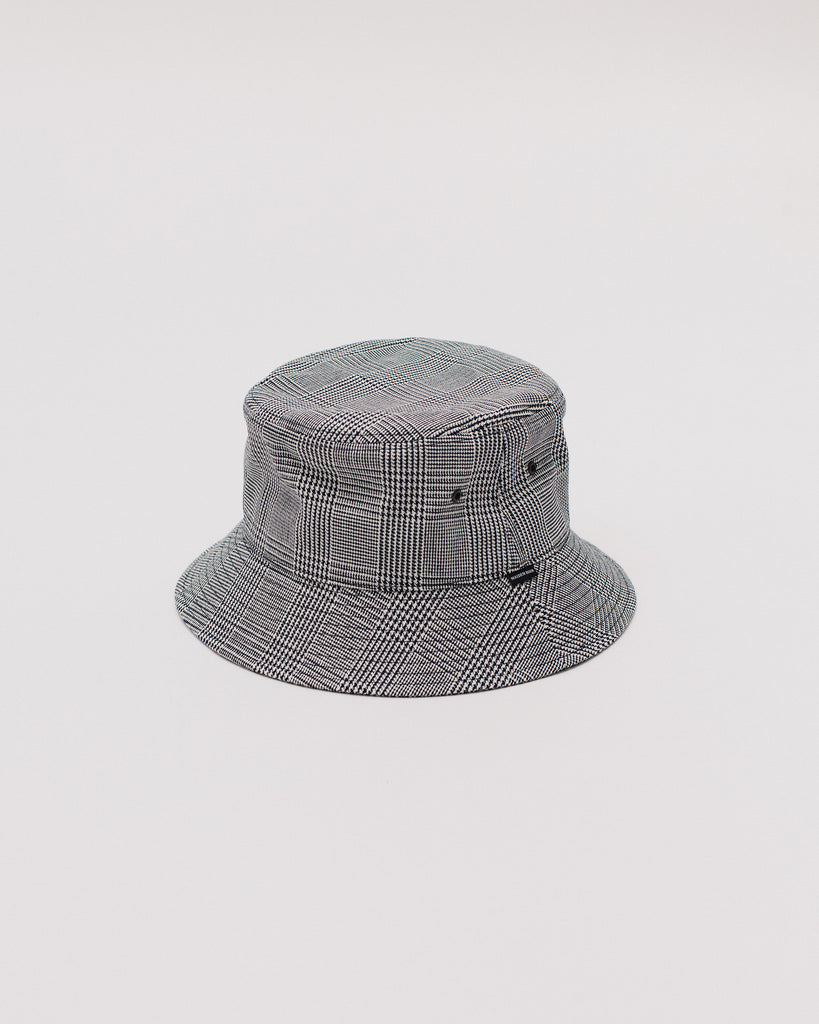 GLEN BUCKET CAP - WHALES PLAID