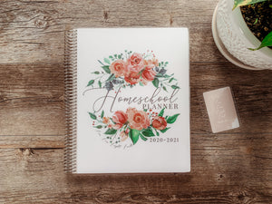 Rose cover by ahumbleplace | Charlotte Mason Homeschool Planner