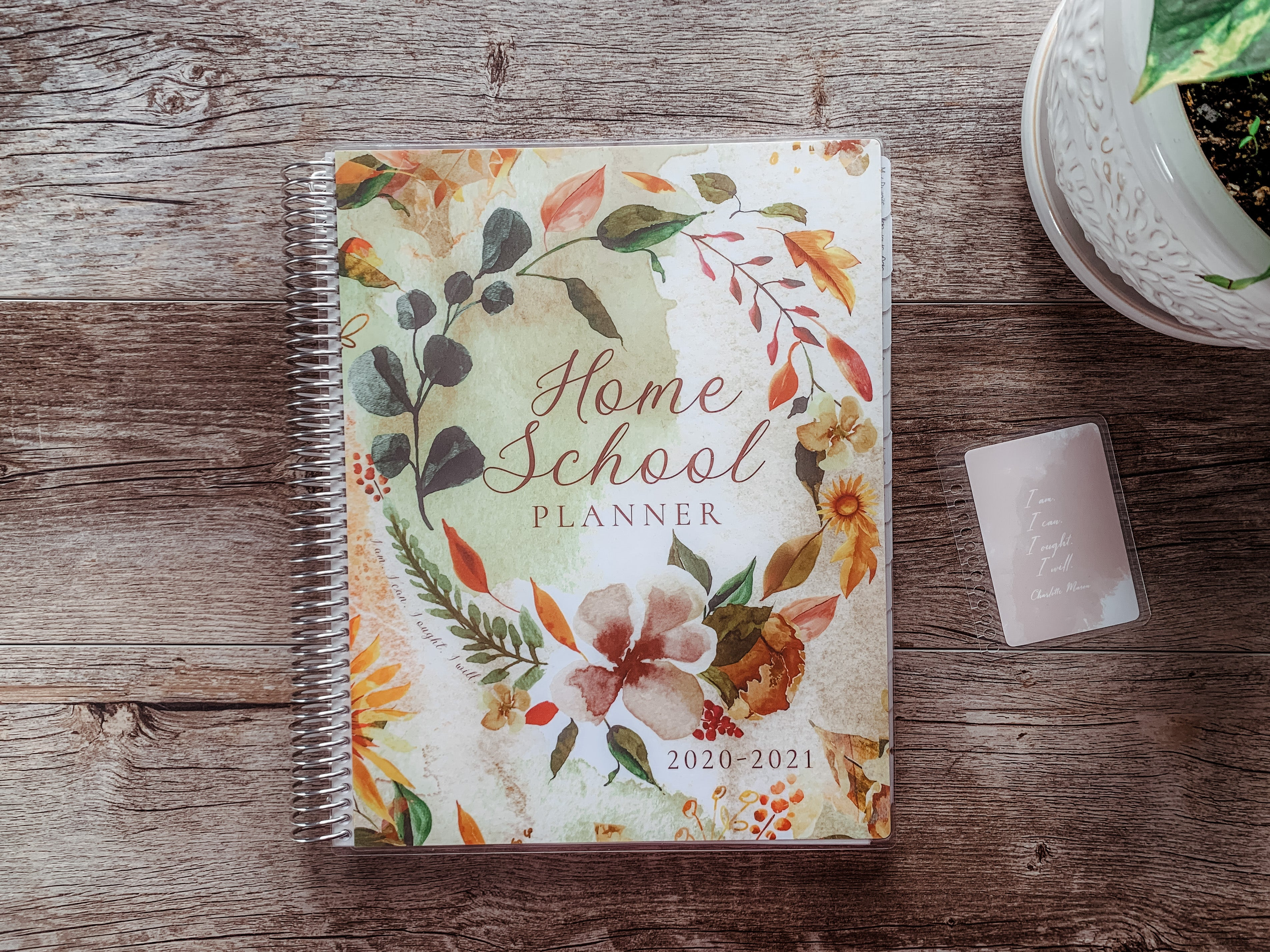 Autumn cover by ahumbleplace | Charlotte Mason Homeschool Planner