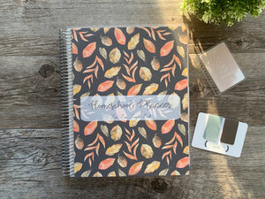 Fall Floral - Charlotte Mason Inspired Homeschool Planner