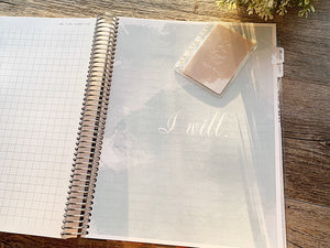 Brown floral - Charlotte Mason Inspired Homeschool Planner