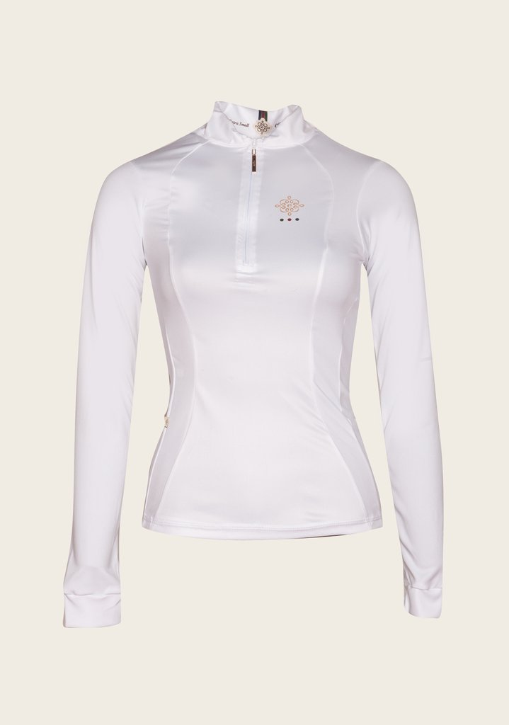 White Show Shirt Long Sleeve