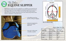 Load image into Gallery viewer, Deluxe Equine Slipper medical boot