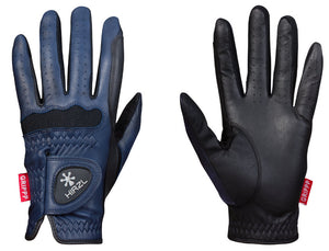 Elite navy blue gloves