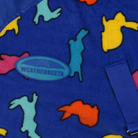 Load image into Gallery viewer, Weatherbeeta Fleece Rug with Hare print