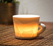 Load image into Gallery viewer, Ceramic cup - horse