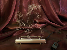 Load image into Gallery viewer, Horse LED lamp