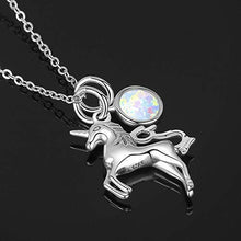 Load image into Gallery viewer, Horse Silver Pendant