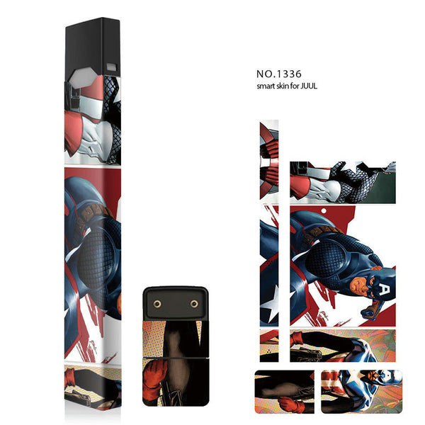 Superhero Skin Decal Vinyl Wrap for Juul Vape Stickers Skins Cover
