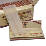 King Size 110 mm Natural Unrefined Hemp Cigarette Rolling Papers