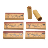 Brown Natural Hemp Unrefined Cigarette Rolling Tips