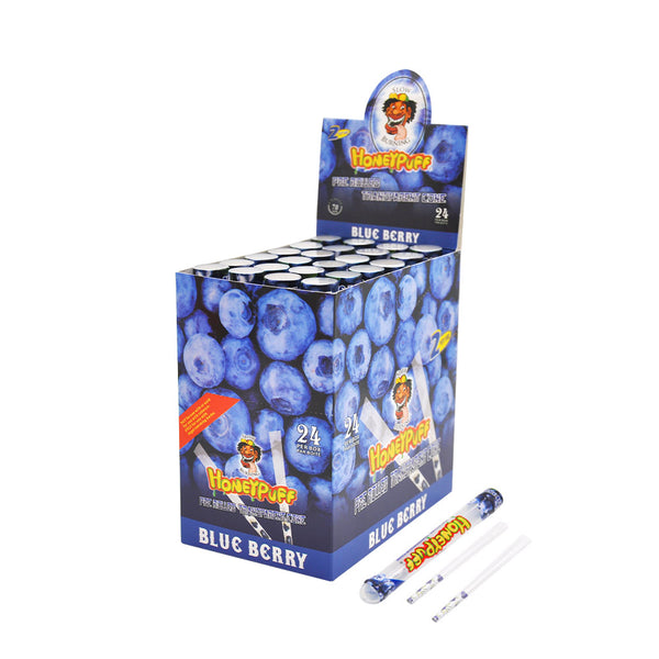 78 mm Blueberry Flavored Pre-Rolled Cones