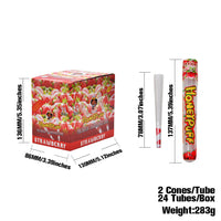78 mm Strawberry Flavored Pre-Rolled Cones