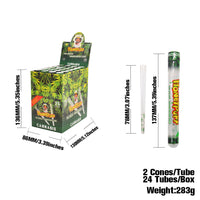 78 mm Weed Flavored Pre-Rolled Cones